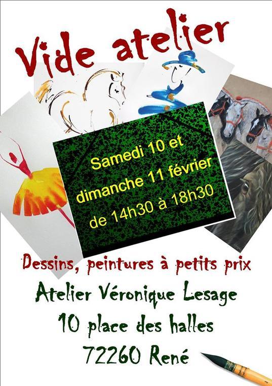Vide atelier Véronique Lesage