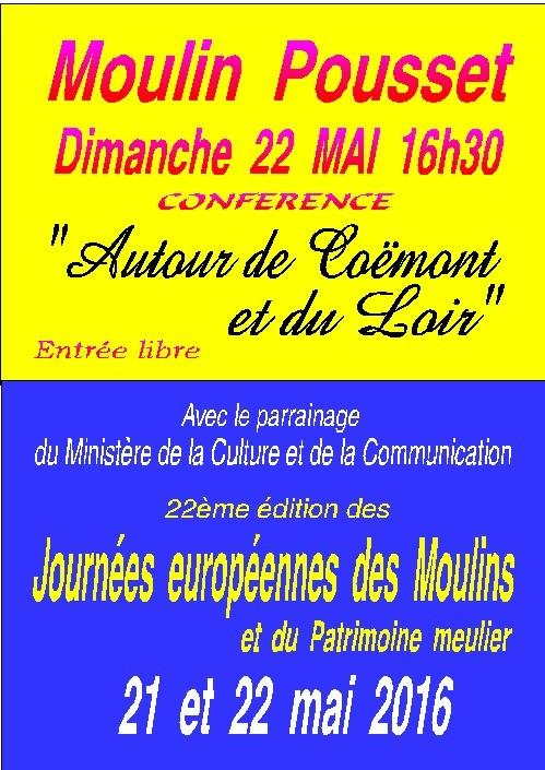 moulin pousset conference