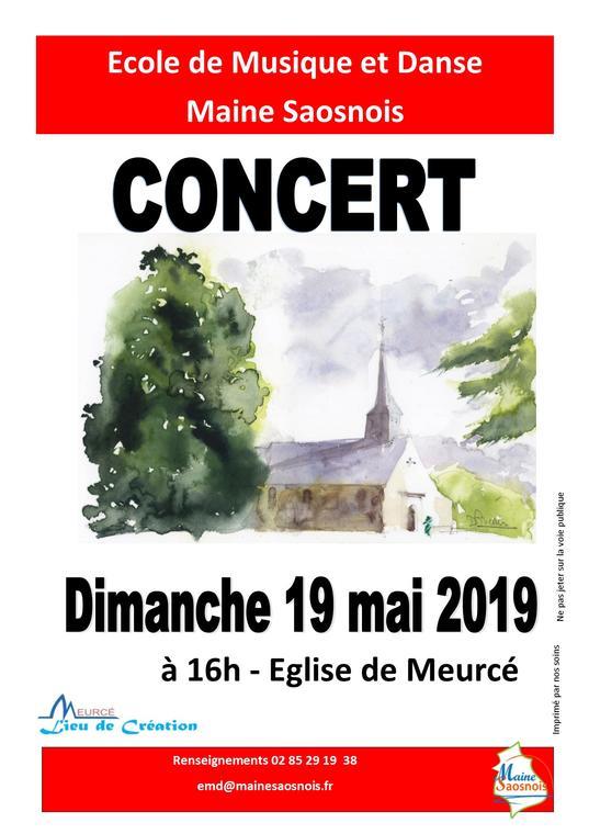 affiche concert meurcé 2019