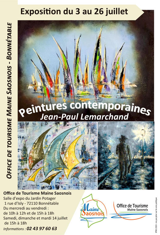 affiche expo m. lemarchand