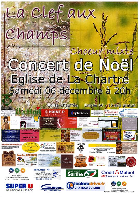 concert 6 décembre