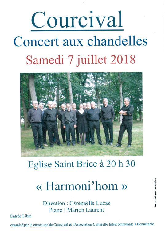 concert aux chandelles - Courcival
