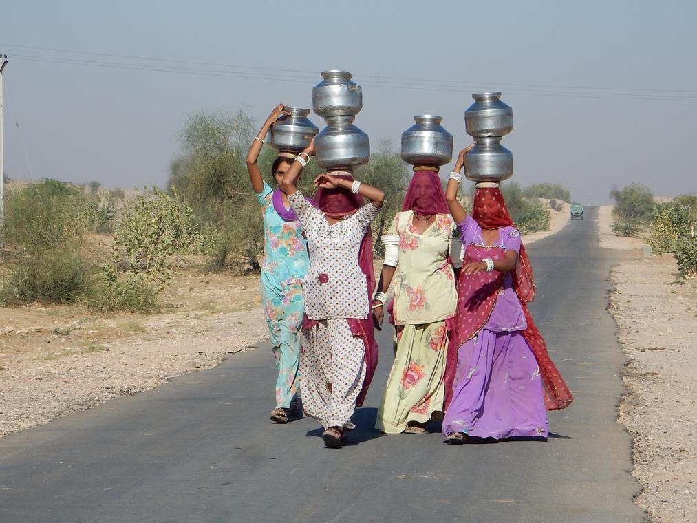 des saris, des turbans