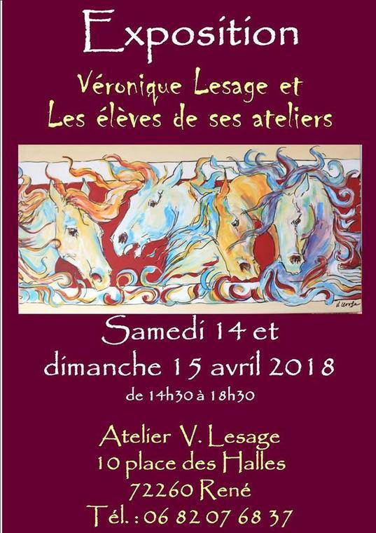 expo atelier Véronique Lesage