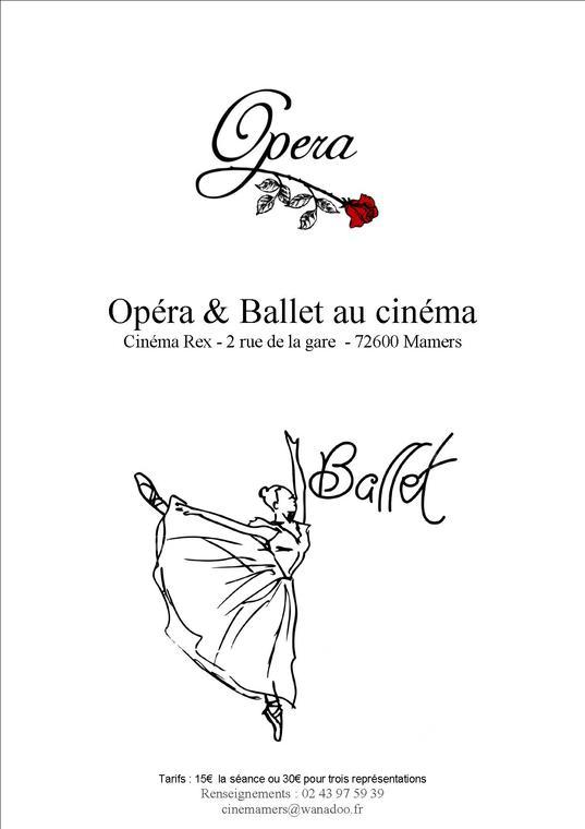 programme opéra