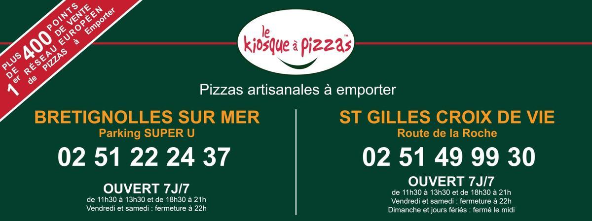 KIOSQUE A PIZZAS
