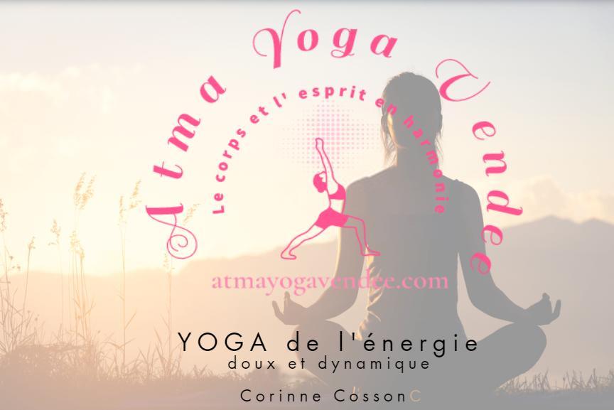 Logo et image atma yoga CCOSSON