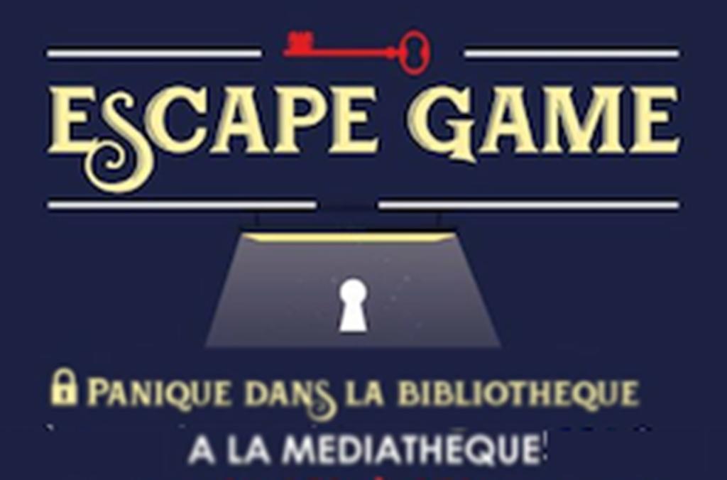 """Escape Game """"Panique dans la bibliothèque"""""""