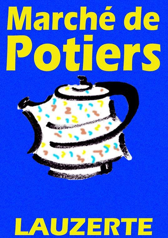Marché de Potiers Lauzerte