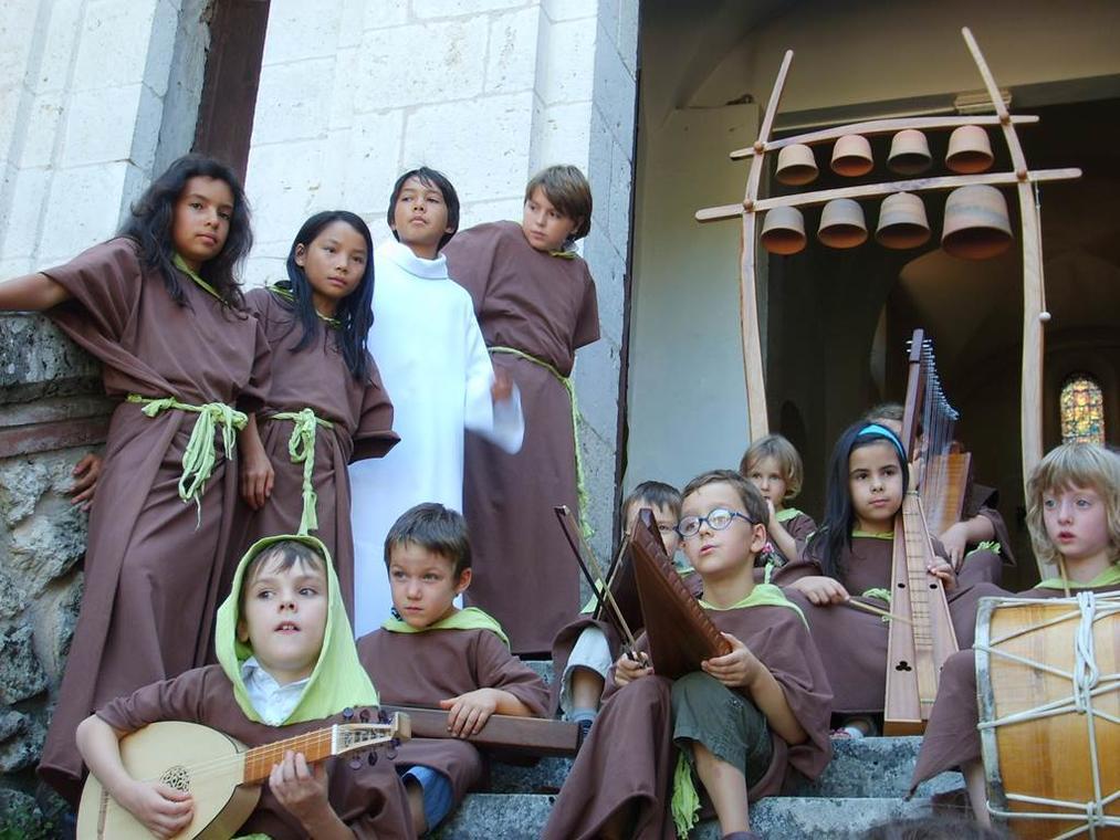Les moines de Moissac