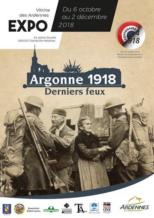 """Exposition """"Argonne 1918, derniers feux"""""""