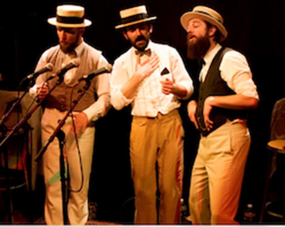 """Rendez-vous nomades """"Le Trio Vocal Aqueles"""""""