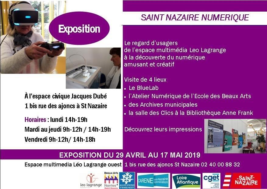 expo saint-nazaire numerique
