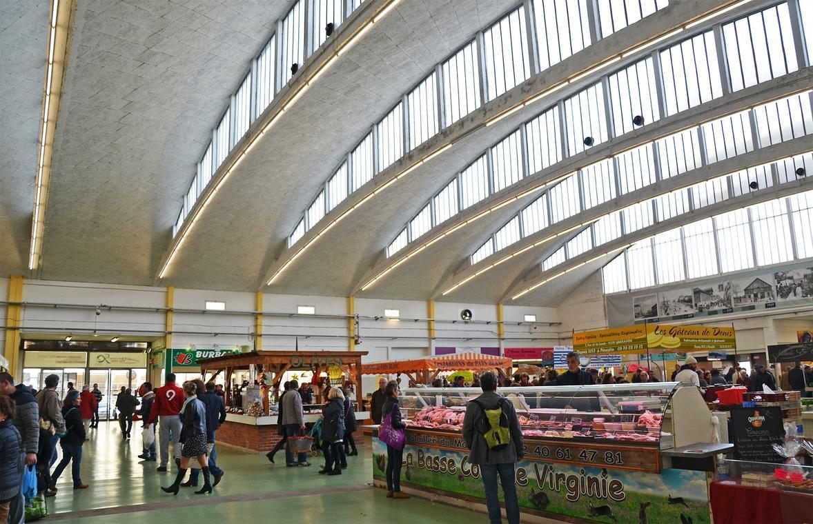Les halles de Saint-Nazaire : une architecture à découvrir