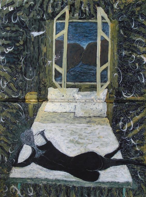 Une peinture de Jean-Louis Cerisier