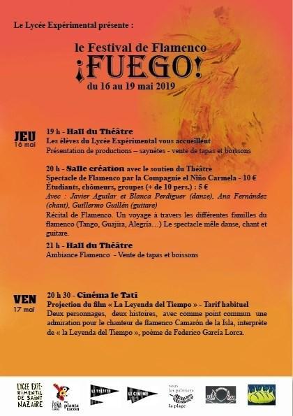 Programme Flamenco Recto