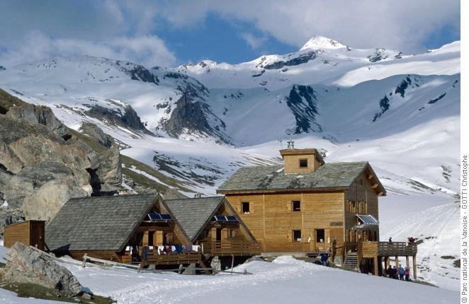 Refuge de la Femma - refuge du Parc national de la Vanoise