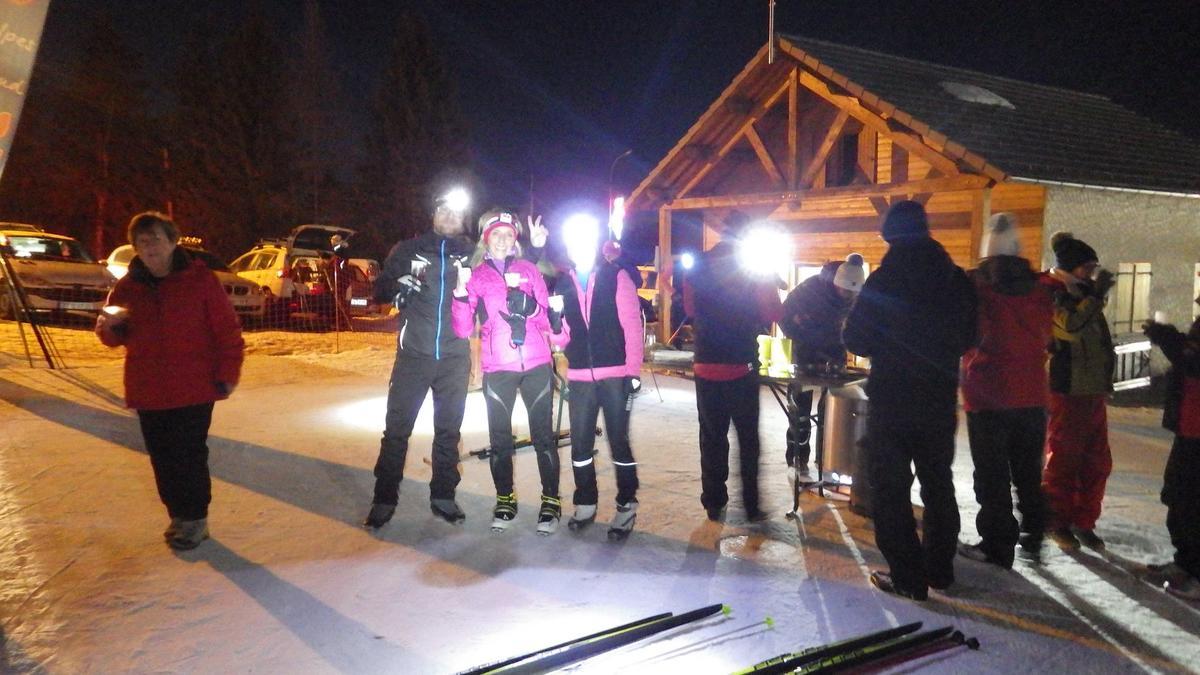 Nocture ski de fond Ancelle
