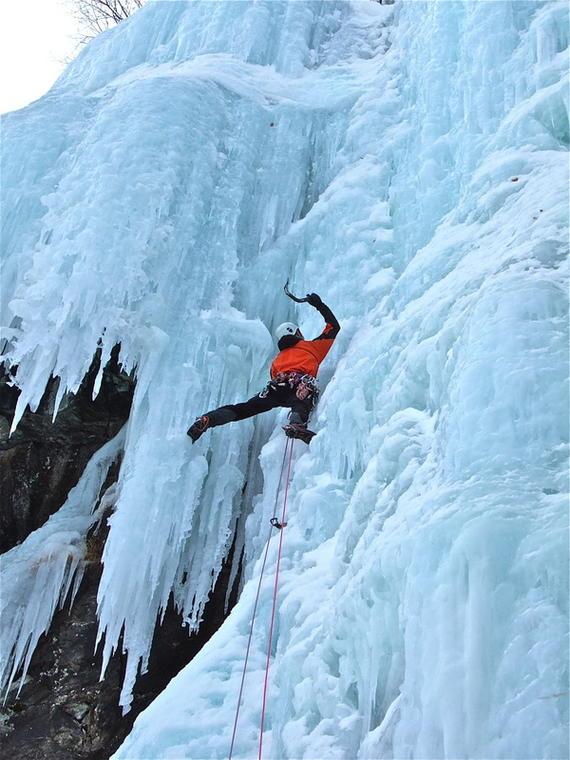 Cascade de glace, Champsaur