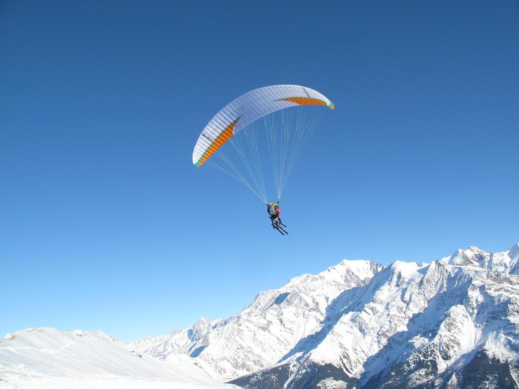 Parapente à ski