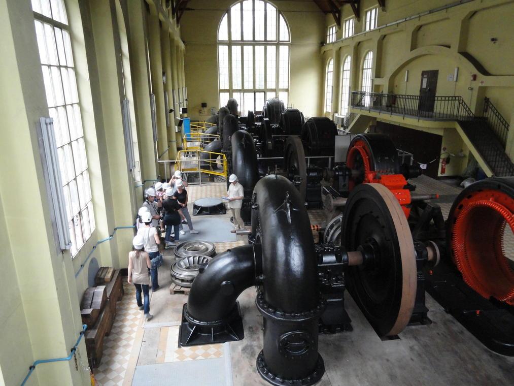 Visite guidée de la centrale hydroélectrique d'Avrieux