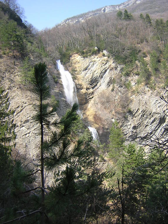 Cascade de la Gorge