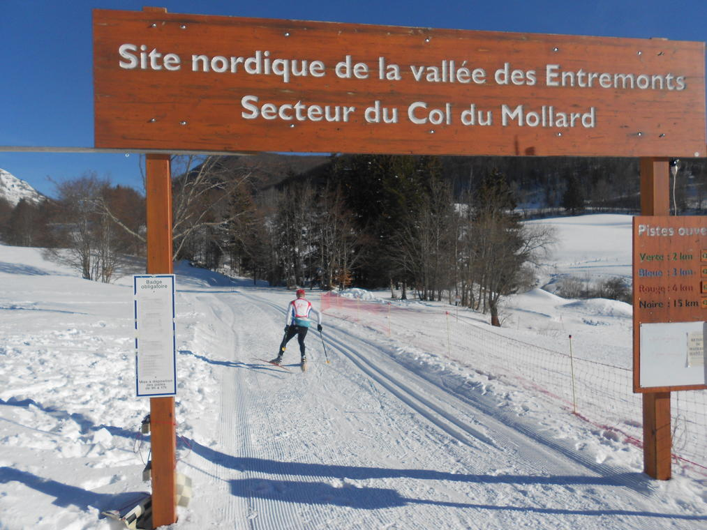 Espace nordique des Entemonts - Le Désert d'Entremont