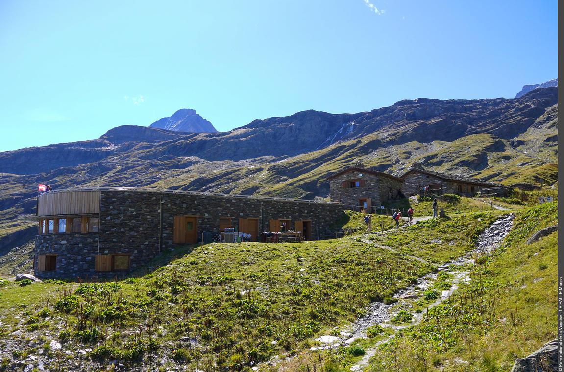 Parc nationale de la Vanoise- Refuge de l'Arpont