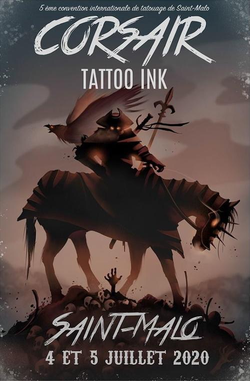 Corsair Tattoo Ink - Saint-Malo - 4et5juil2020 ©Corsair Tattoo Ink