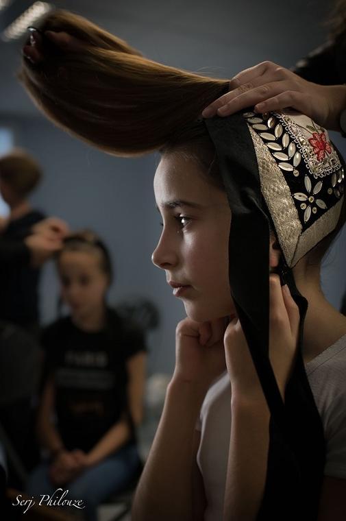 Démonstration de pose de coiffe - Guilvinec - Pays Bigouden