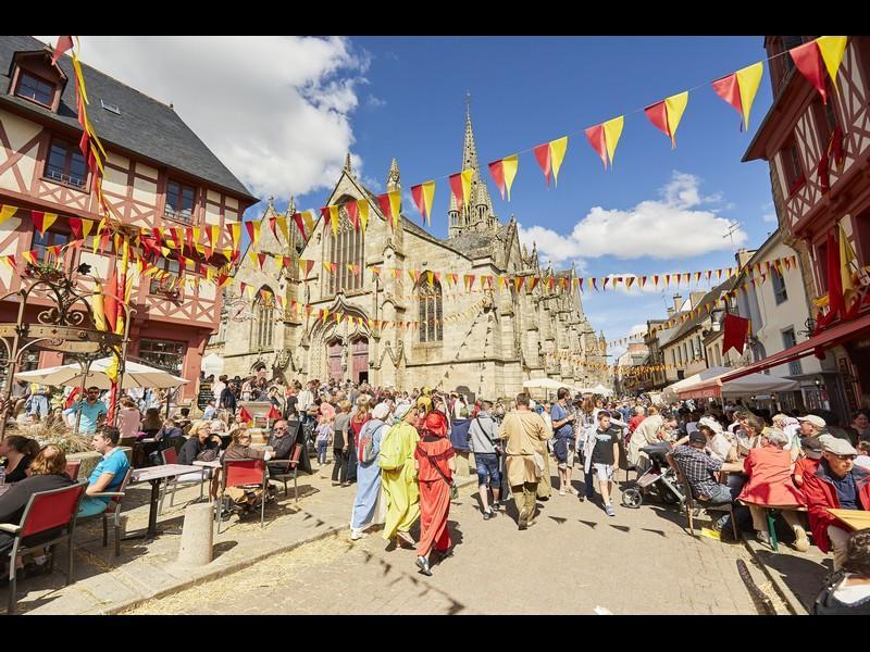 Festival médiéval - Josselin - Morbihan - Bretagne