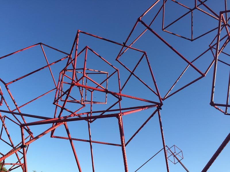 exposition - etangs d'art - lac au duc - Morbihan