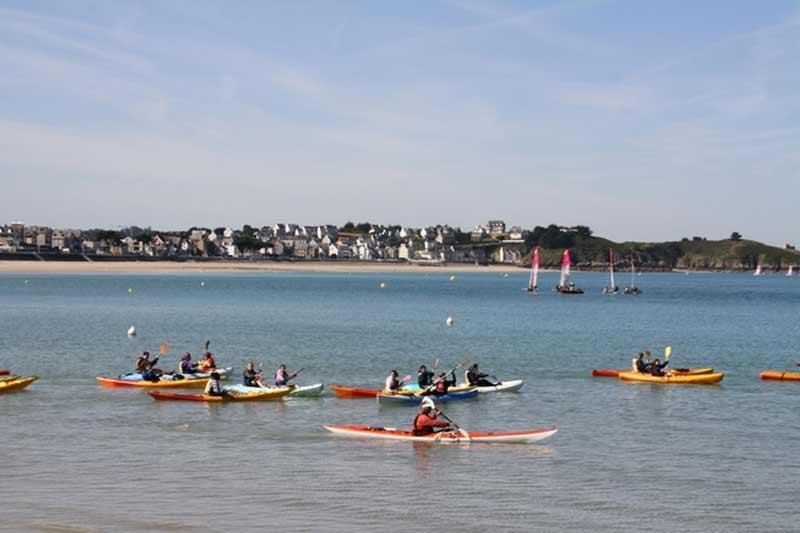 Balade kayak à la Pointe de Penvins