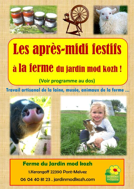 flyer visite guidée pour impression recto