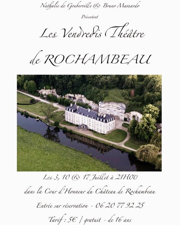 Animations-Château-de-Rochambeau-Thoré-la-Rochette