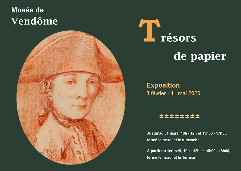 Expoition : Trésors de papier au musée de Vendôme