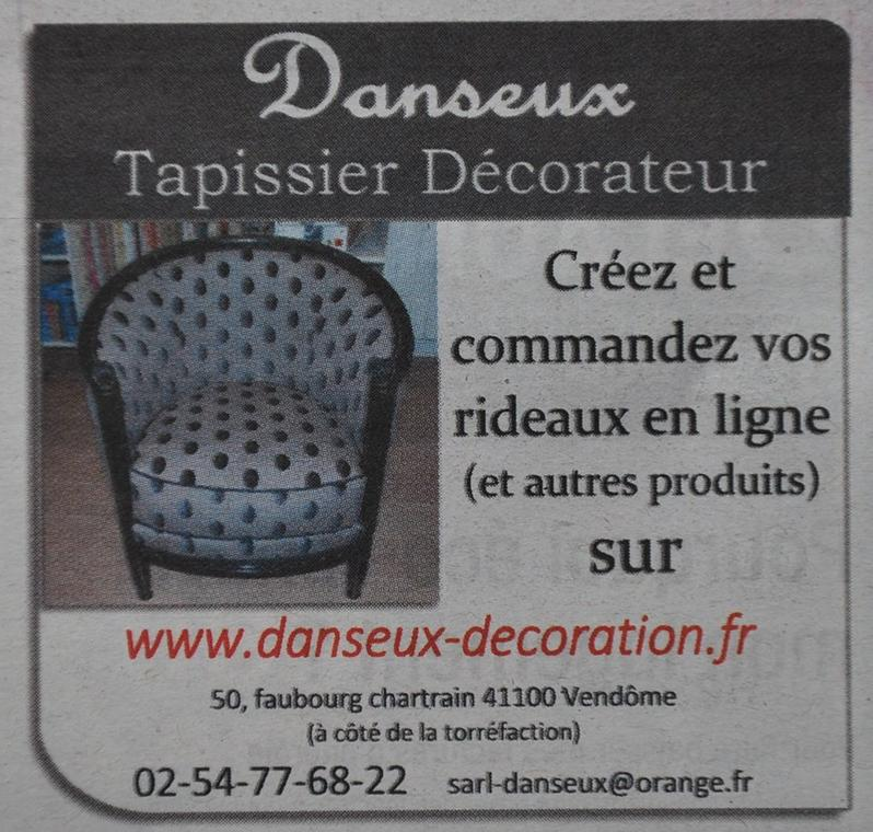 Tapissier Danseux à Vendôme