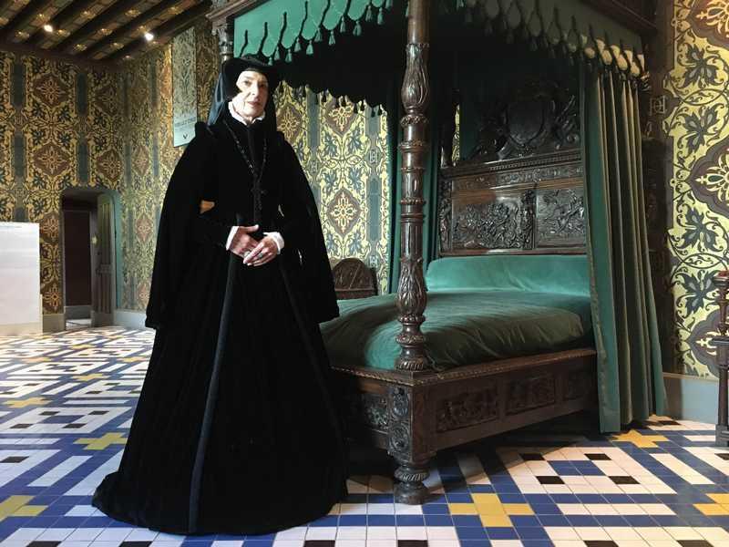 Les secrets de la Dame en Noir château royal de Blois