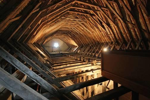 charpente-de-la salle-des-Etats-Generaux-chateau-de-Blois