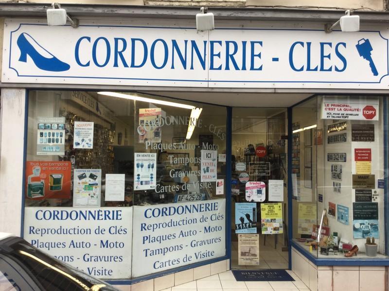 Cordonnerie-Clés minute à Vendôme