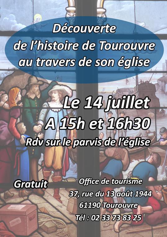 Affiche Tourouvre 14 juillet 2019