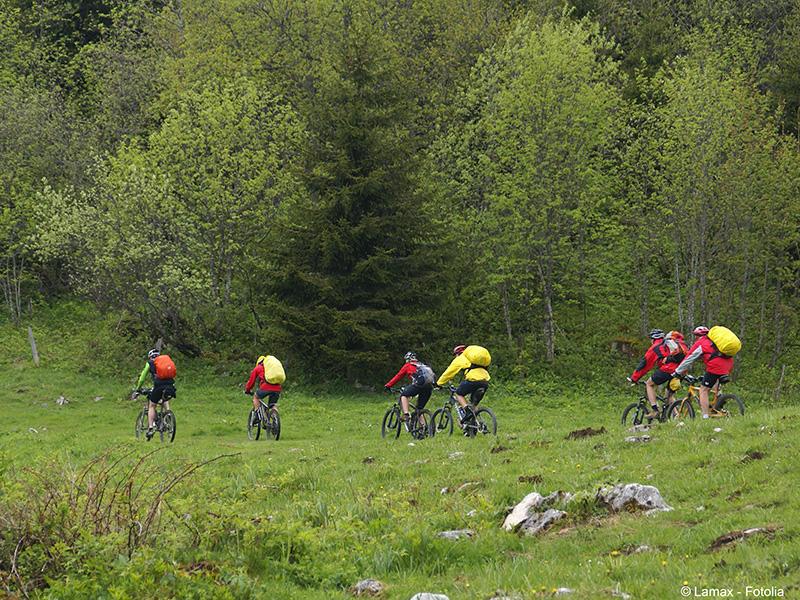 A vélo dans l'Orne