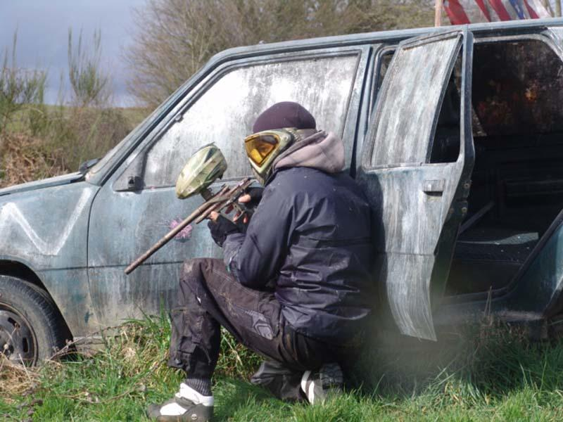 Perche Paintball - St Germain de la Coudre