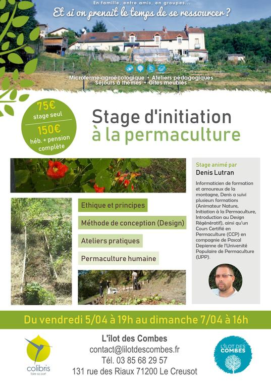 Affiche permaculture