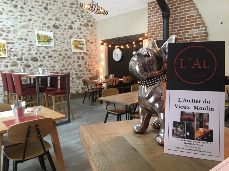 restaurant atelier du vieux moulin_la bazouge des alleux
