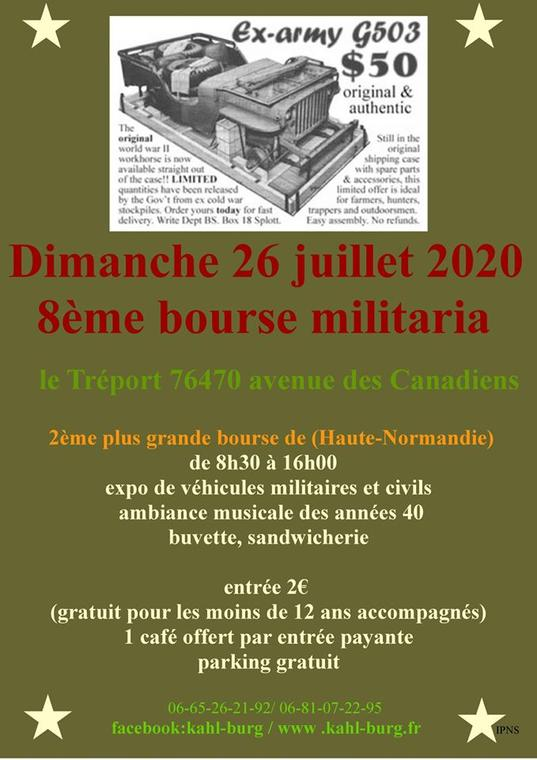 072620 - LE TREPORT - Bourse militara