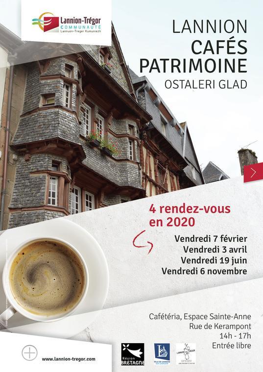 Affiche Café patrimoine