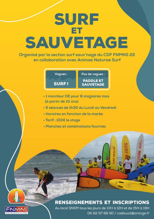 Surf-paddle-trestel