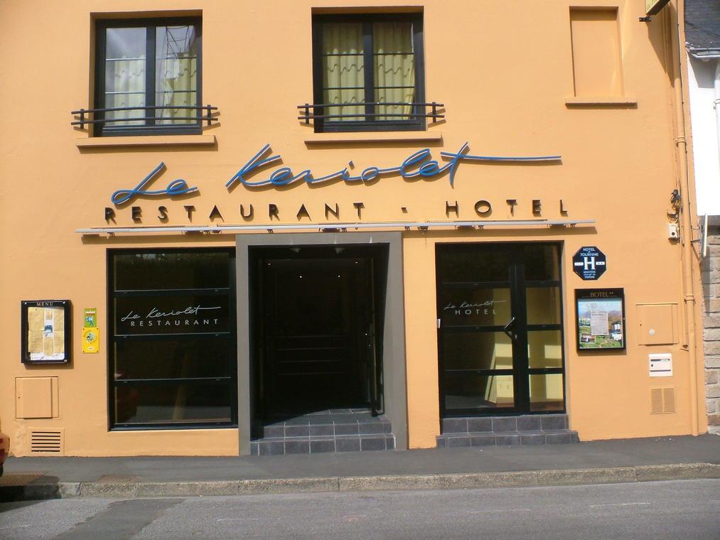 Douarnenez - hôtel restaurant Le Keriolet