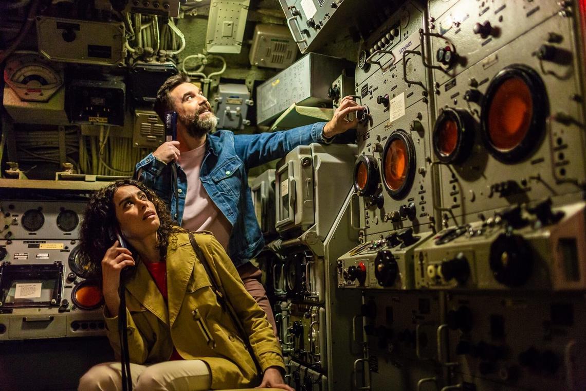 Embarquez à bord du sous-marin
